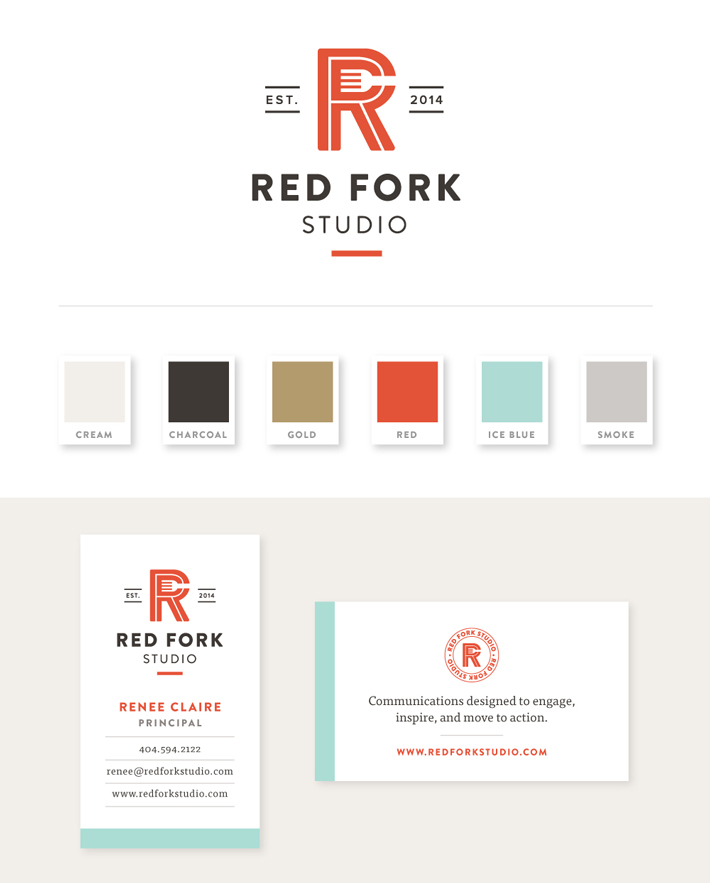 Red Fork Final Branding by Spruce Road