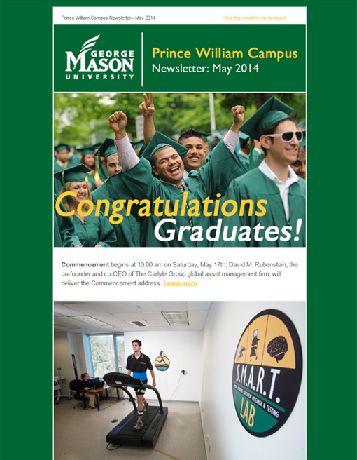 GMU-SciTech-Campus-Newsletter